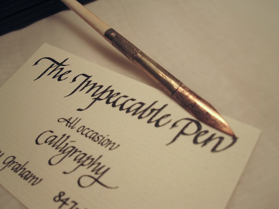 calligraphy wedding services